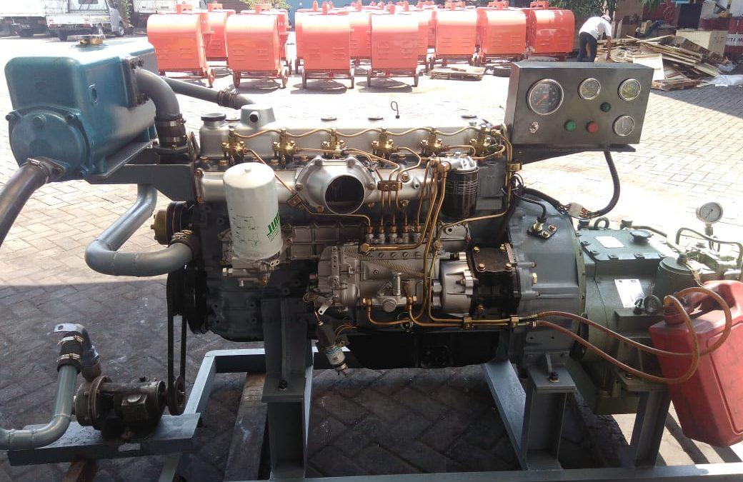 Marine Engine Rekondisi Mitsubishi 6D16 Std